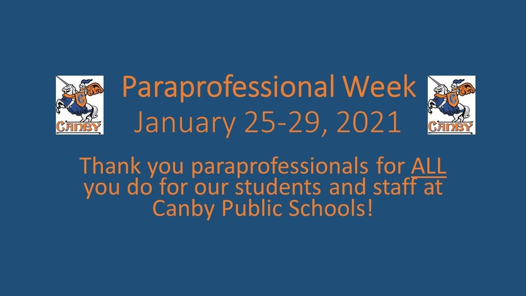 Paraprofessional Week
