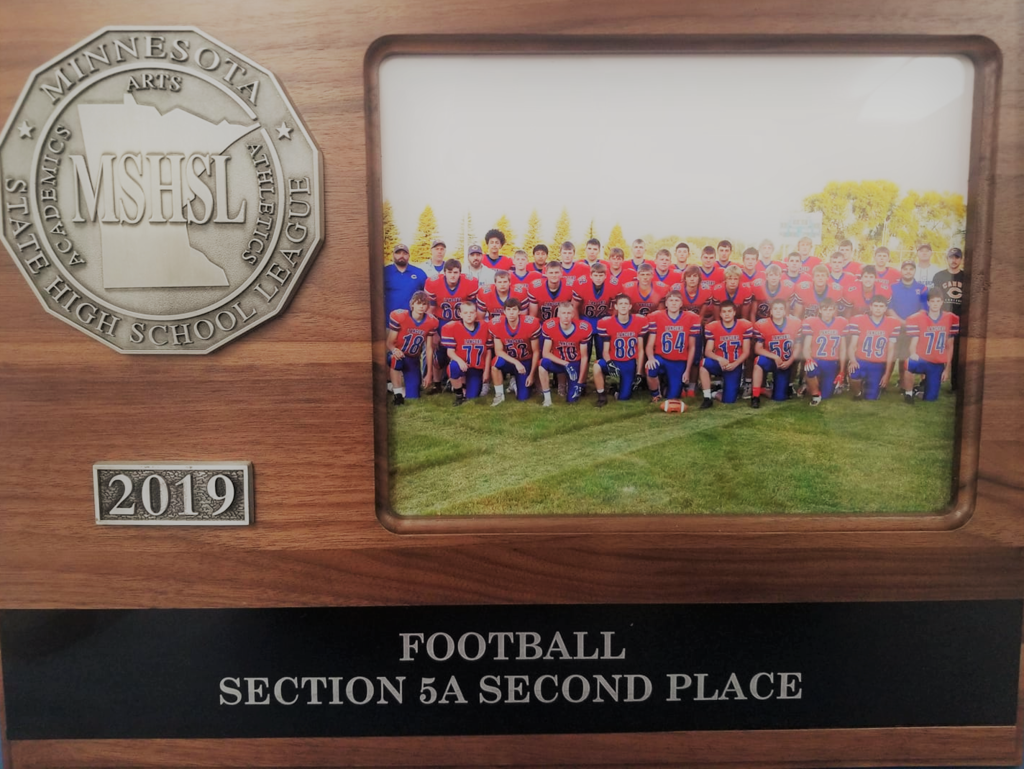 Section 5A Second Place Trophy